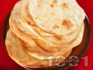 Рецепта Лаваш - плоски арменски питки с просо